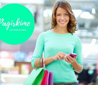 """""""Shopper Quality Group"""" – oficialus projekto """"Pagirkime aptarnavimą"""" partneris"""
